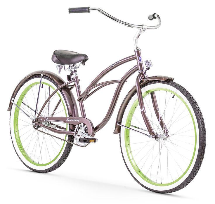"""Firmstrong Urban Boutique Single Speed - Women's 26"""" Beach Cruiser Bike"""
