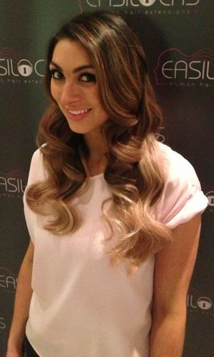 Luisa Zissman gets new ombre hair extensions for spring: photos