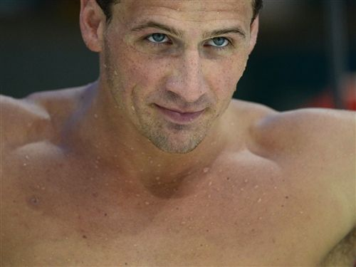 """Me, pre-Olympics: """"Who cares? It's just sports."""" Me, during Olympics: """"Holy cow. Who is that guy?"""" Just Ryan Lochte."""