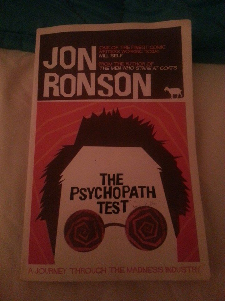 Online Dating: Jon Ronson's The Psychopath Test Answers A Lot Of Questions!