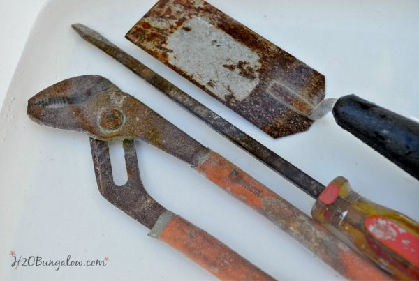 Remove Rust From Tools and Keep It Off