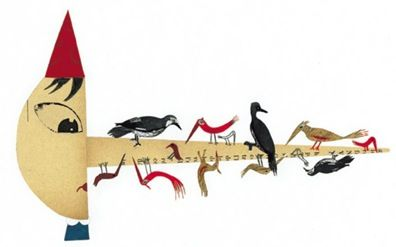 Pinocchio illustration by Sara Fanelli