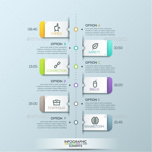 Modern Infographic Paper Timeline Template. Download here…