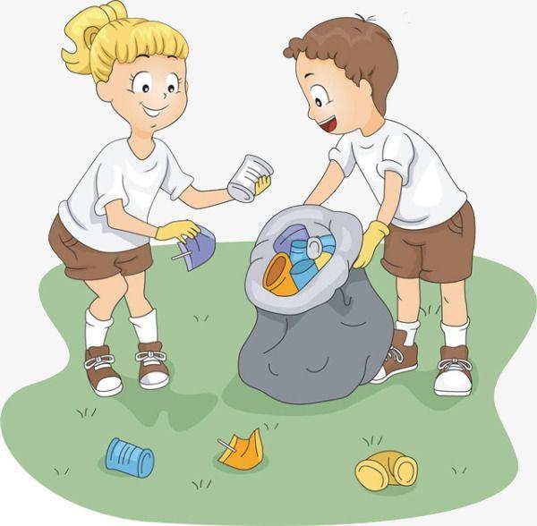Cartoon Girl Boy Picki...