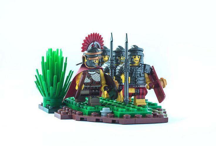 On patrol #Lego #Roman