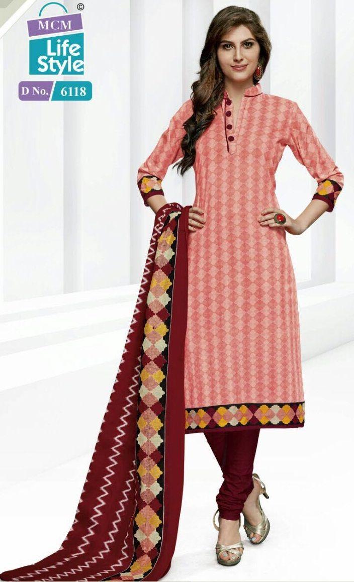 91f6e17d78 MCM Advance vol-14 Cotton printed material (18 pc catalog)   mcm Life style  Cotton DressWholesale supplier in surat and mumbai   Churidar, Dresses, ...