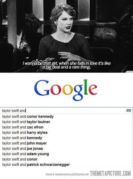 I love Taylor. But this was pretty funny.