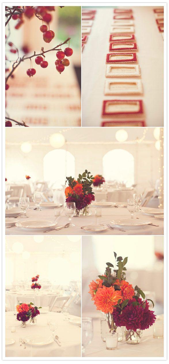 Autumn afternoon wedding: Pink Flowers, Autumn Afternoon, Flowers Colors, Autumn Weddings, Wedding Colors, Autumn Centerpieces, Simple Flowers, Afternoon Wedding, Flower Colors