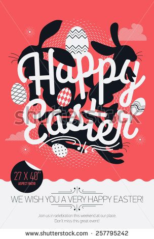 50 best Poster templates images on Pinterest Poster templates - sample easter postcard template