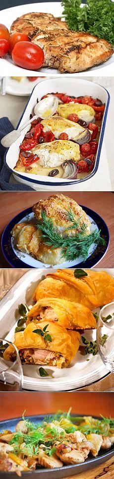 Как запечь куриную грудку: 6 интересных идей / Простые рецепты