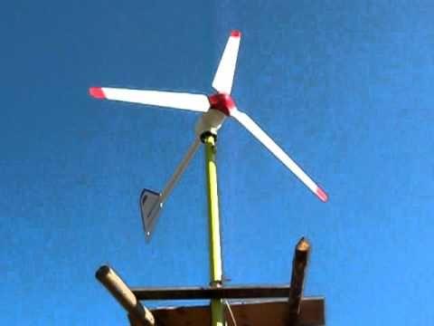 Turbina Eoliana de 2,5KW www.AlternativePureEnergy.ro Part.1