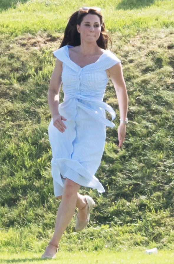 0812eea84dc Kate Middleton baby weight loss revealed as Duchess looks slim two ...