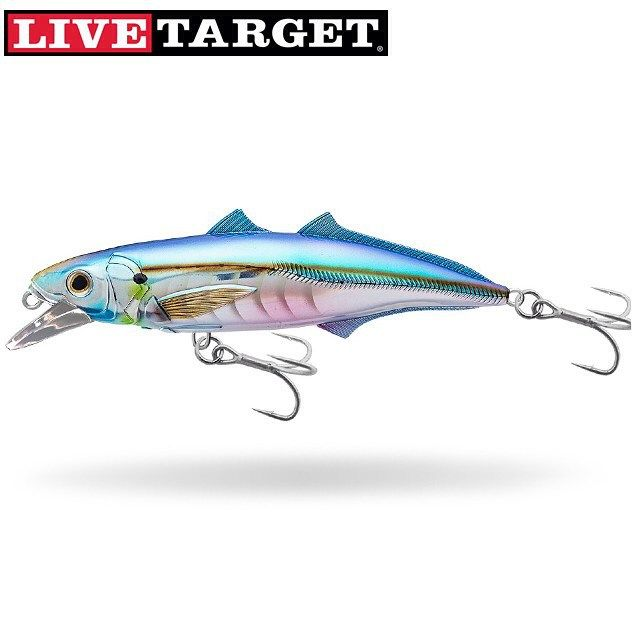 "LiveTarget's newest saltwater lure the Cigar Minnow. Designed for both casting and trolling techniques in two sizes: 4.5"" and 6"". Durable hardware suitable for everything from snook to kingfish to grouper. #fishing #icast #ICAST2015 #saltwater #snook #kingfish #saltwaterfishing"
