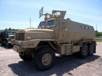 5 Ton 6x6 Mrap Trainer Armored Vehicles Military