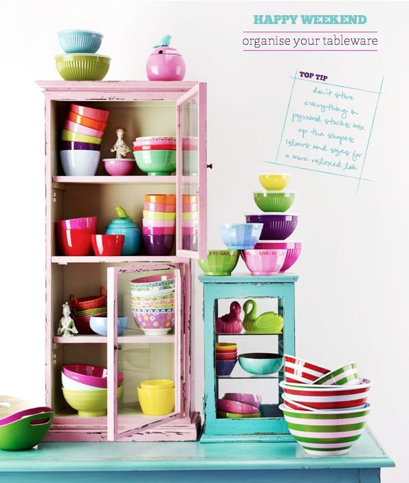 Happy Weekend: Organise Your Tableware – Bright.Bazaar