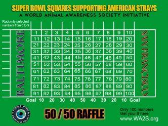 100 Square Football Board   Super Bowl Football Squares ...
