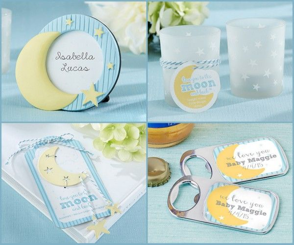 To the Moon and Back Baby Shower Favors from HotRef.com