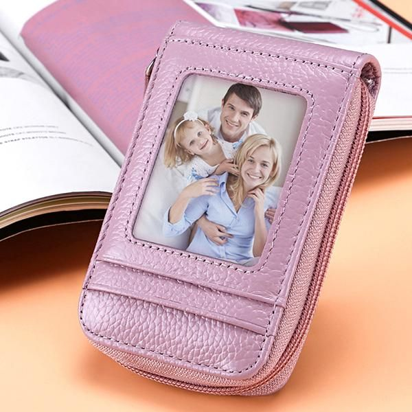 Buy Women Genuine Leather Card Holders 12 Card Holders Wallets Purse online with cheap prices and discover fashion Women's Bags,Wallets at Loverchic.com.