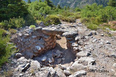 Mycenaean tombs at Palaiochori village Arcadia Peloponnese