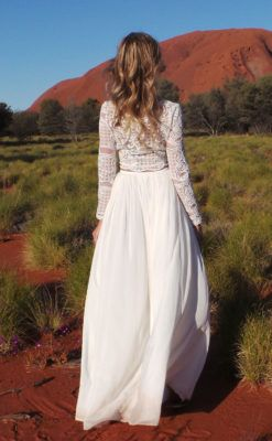 Modern wedding dresses for romantic, boho and beach weddings made with love at a price you can afford.