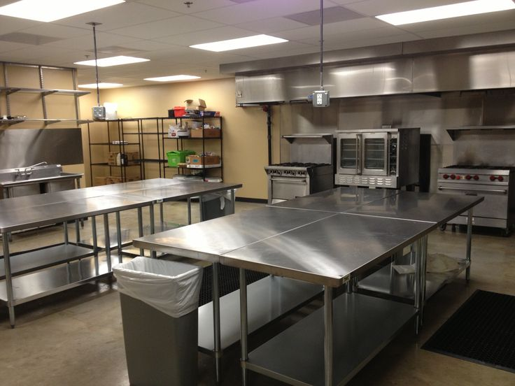 Commercial Kitchen For Bat Of Farm House To Prep All Our Produce And