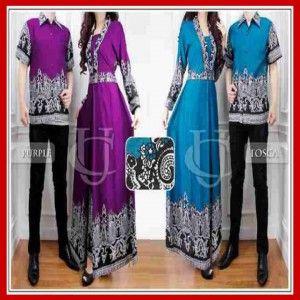 Baju Couple Batik Modern Dan Terbaru