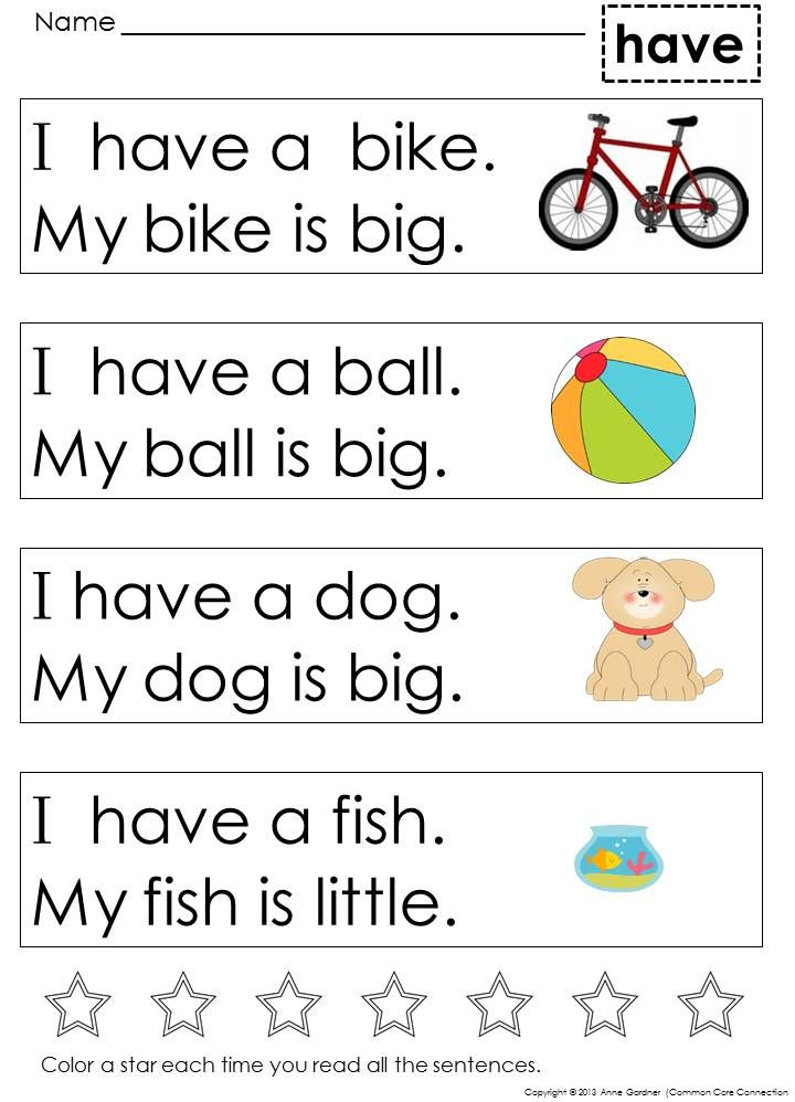 709bb09d08cb8873394dc627736f99f6  sight word sentences sight words - Reading Videos For Kindergarten