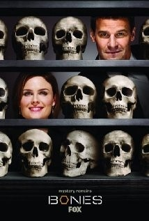 Bones (2005 - ) tv-shows- Its the mysteries that attract me...and the science behind the solutions...