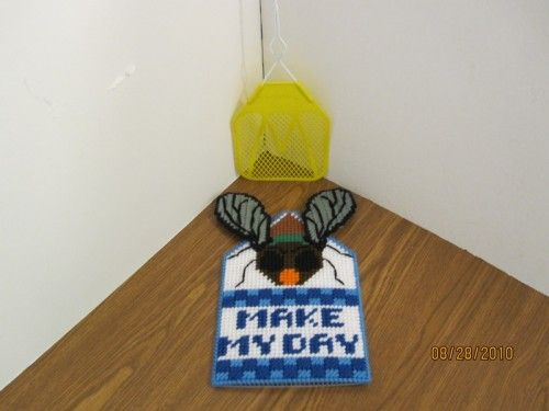 how to make fly swatter