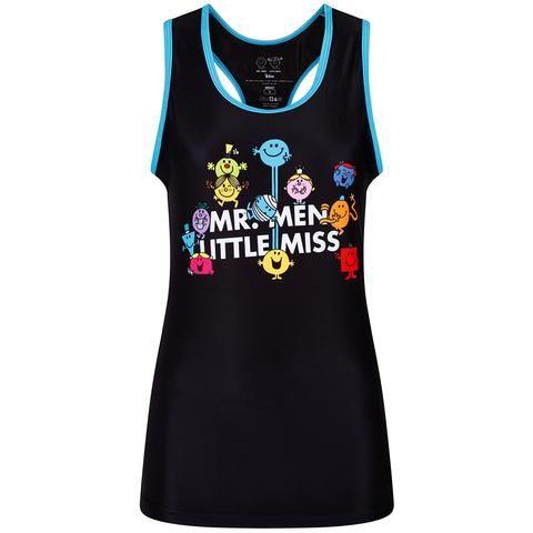 Tikiboo Mr. Men Little Miss Vest Black & Blue £26.99
