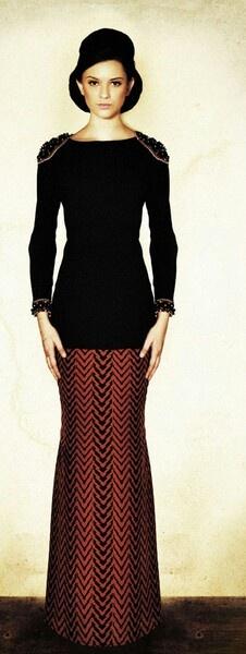 The new fashion for raya. By jovian mandagie.