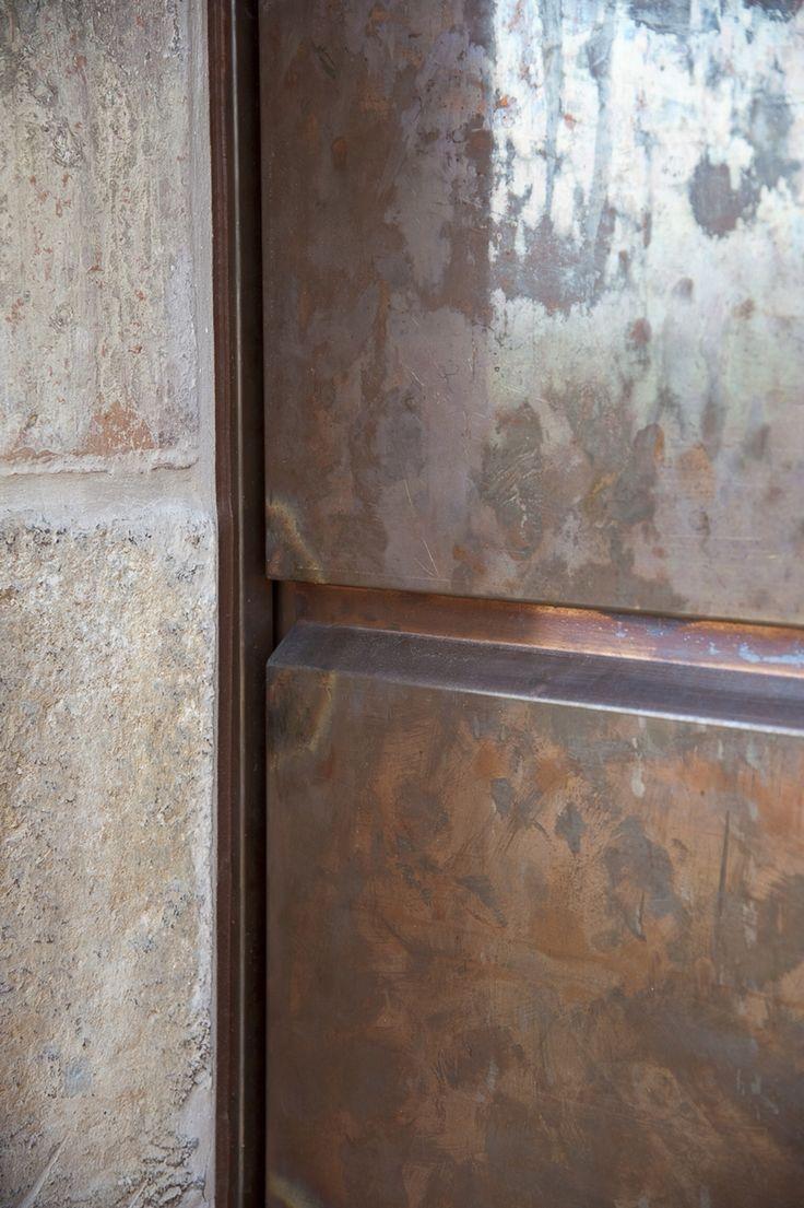 Copper in your main door!