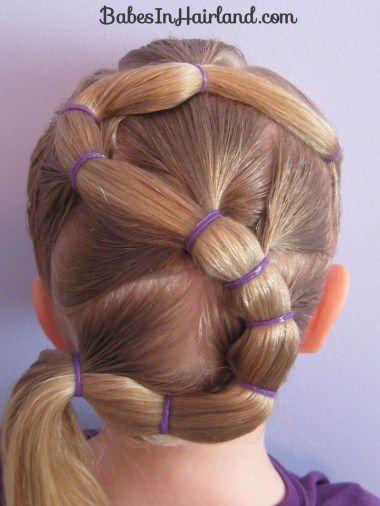Buchstabe S Frisur | Kinder haar, Frisuren für kleine ...