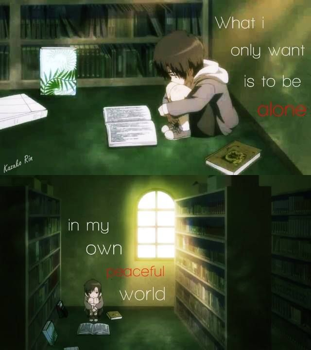 Inspired a good idea for a story about an immortal girl would gets trapped in a library by a curse