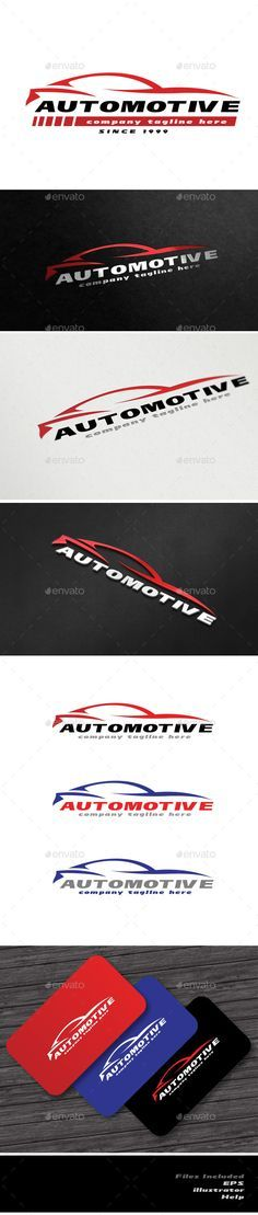 Automotive Logo Template — JPG Image #automotive #outline • Available here → https://graphicriver.net/item/automotive-logo-template/9894590?ref=pxcr