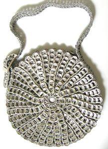 DaLata Circle Bag in silver