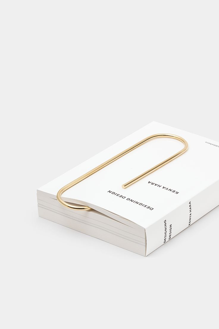 Via Ode to Things | Carl Auböck Oversized Paperclip | Minimal