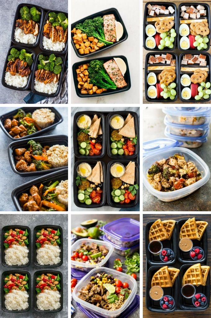 Meal Prep recipes are a great way to encourage healthy
