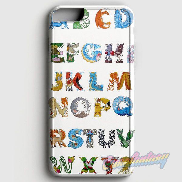 Pokemon Alphabet iPhone 6/6S Case | casefantasy