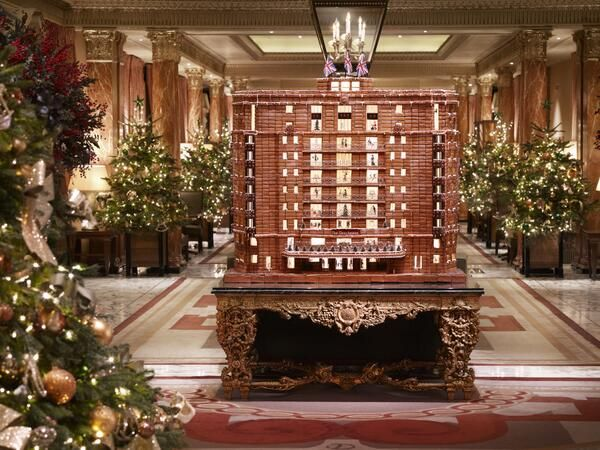The Dorchester's famous #gingerbread hotel has returned for #Christmas 2013! http://www.simplyhoteljobs.com/recruiters/the-dorchester-collection