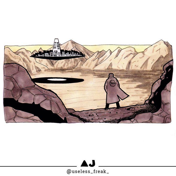 the Flying City #FlyingCity #doodle #illustration #drawing #art #ARTwork #comicART #mixedmedia