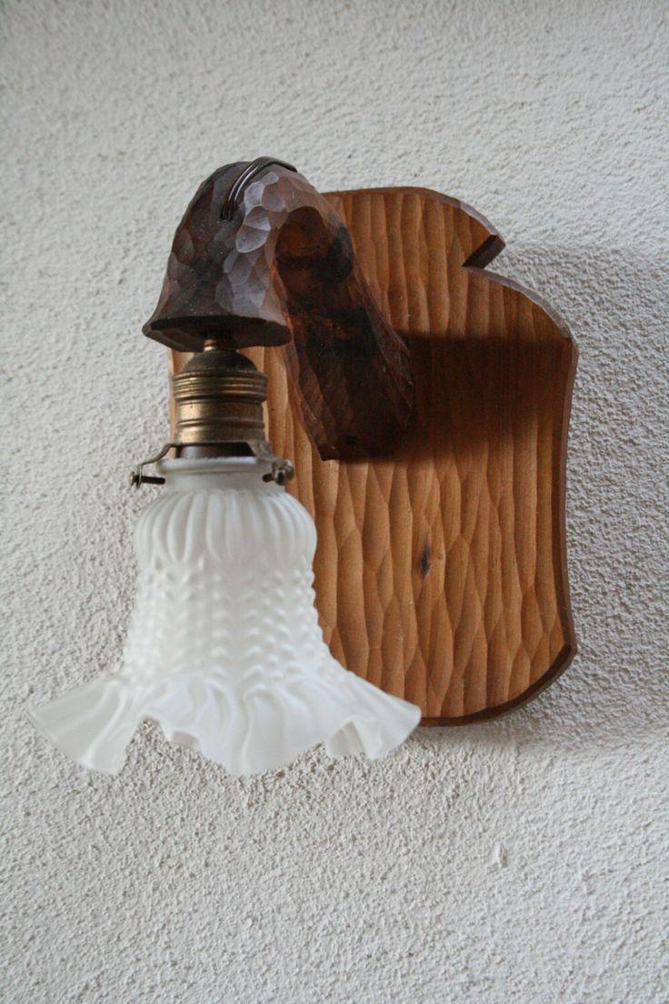 Un preferito personale dal mio negozio Etsy https://www.etsy.com/it/listing/505786572/lampadari-rustici-in-lagno-intagliato-a