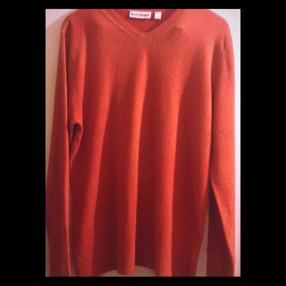 Express Mens' V Neck Sweater - Size L Express Mens' V-Neck Sweater in a Size L.  In excellent/like new condition! Express Shirts