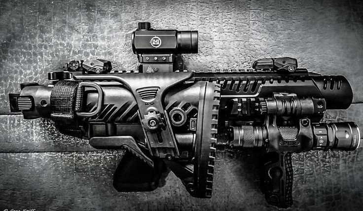 Fantastic pic of the KPOS G2 PDW