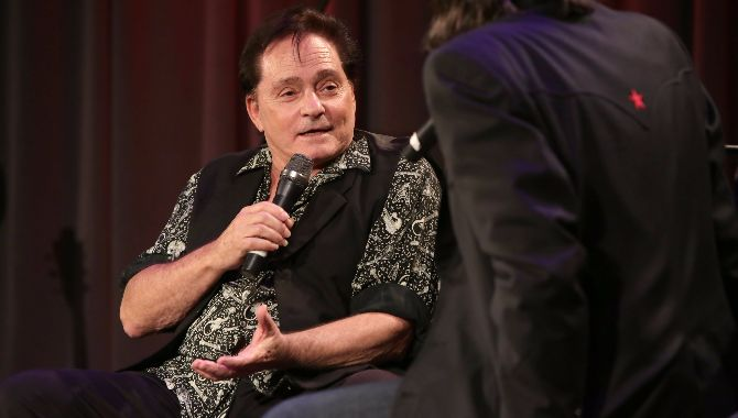 An Evening With Marty Balin at the Grammy Museum, Los Angeles.