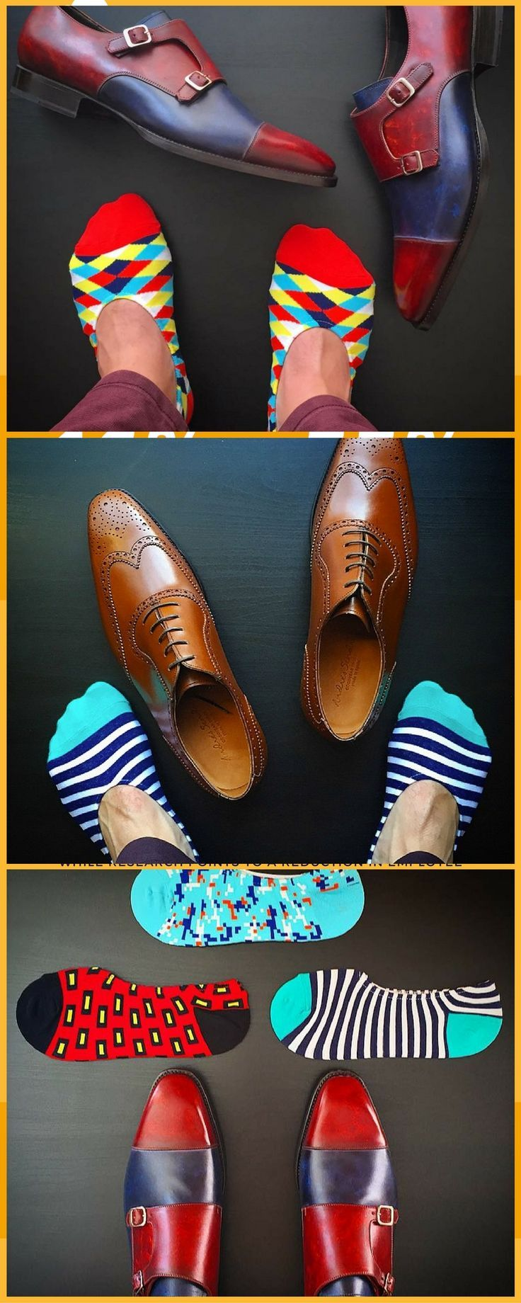 When they think you're not wearing any socks... But you know you're rocking a dope pair of Soxy no shows - mens shoes com, online shopping shoes for mens, mens casual dress shoes