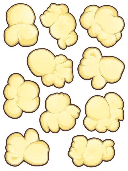 Popcorn Shape Free Printables Popcorn Words Printables
