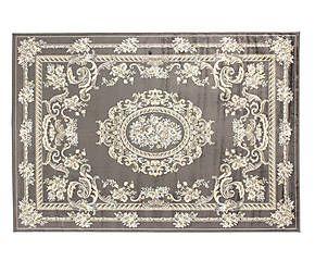 Tappeto in viscosa Vintage Velux grigio scuro - 200x140 cm