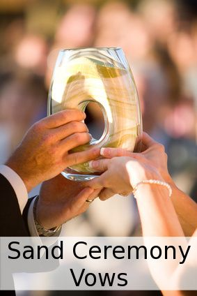 Ideas on how to personalize your wedding sand ceremony to make this part of your wedding ceremony more meaningful.