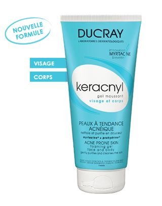 This gel is amazing. keracnyl Gel moussant | Ducray